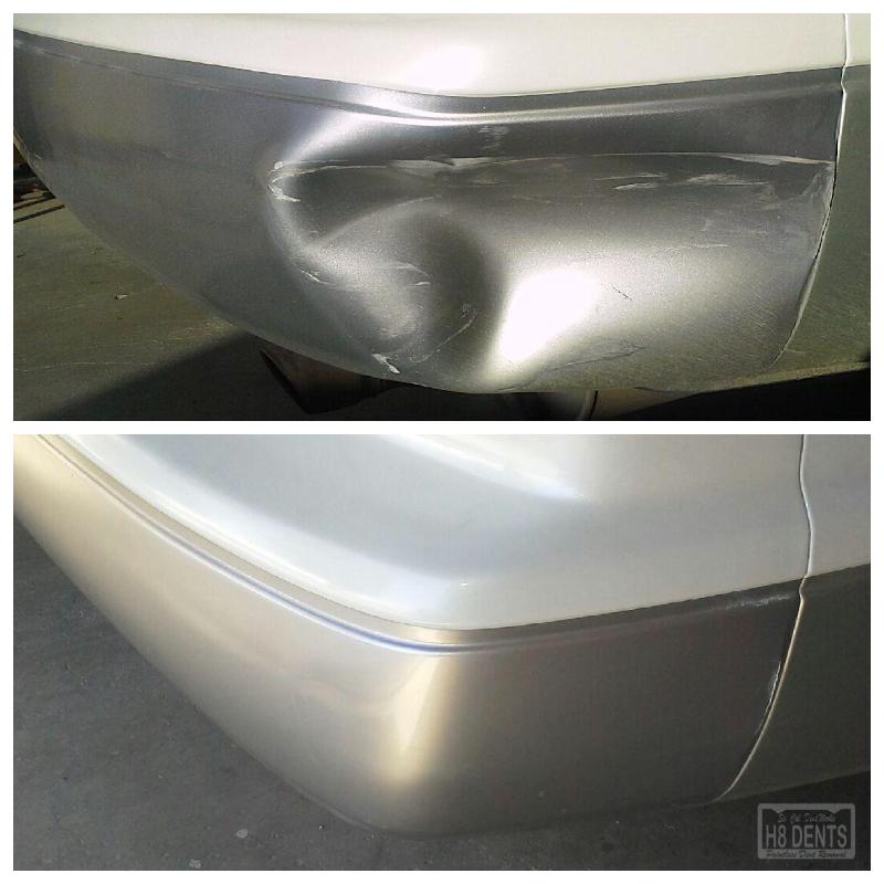 bumper reshaping for lexus plastic bumpers