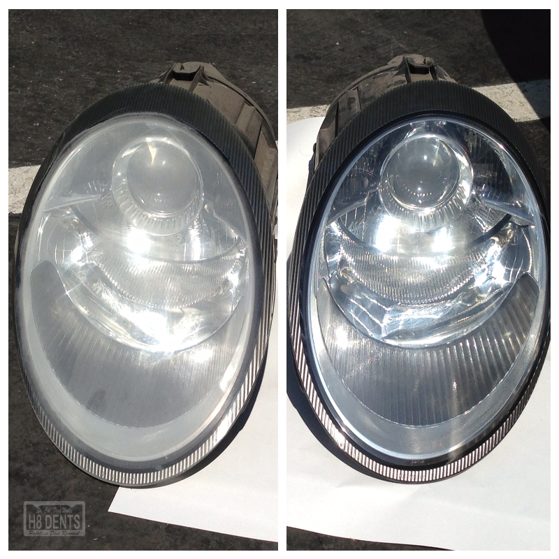 Volkswagon Faded Headlights - So. Cal. Dent Works