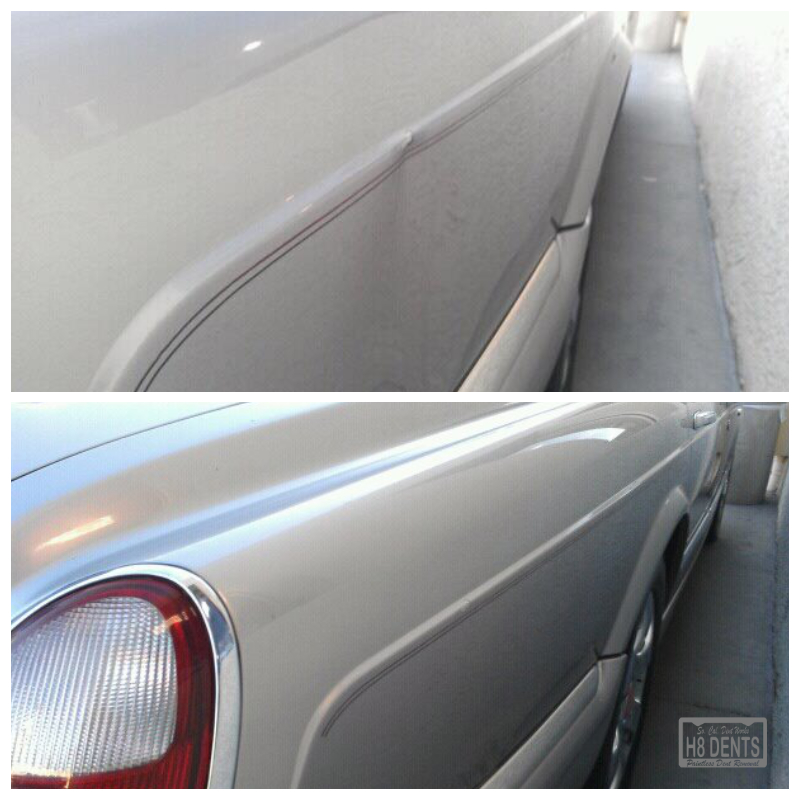 paintless dent removal rolls royce