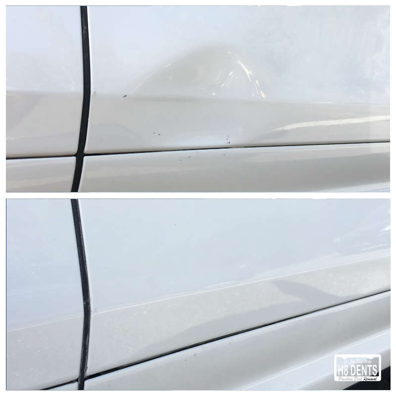 Bottom Door Dent Removal  sc 1 st  H8 DENTS - Paintless Dent Removal & Bottom Door Dent Removal - So. Cal. Dent Works |H8 DENTS Paintless ...